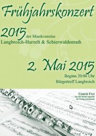 Weiterlesen: 150417 Frühjahrskonzert Musikvereine Schierwaldenrath und Langbroich/Harzelt