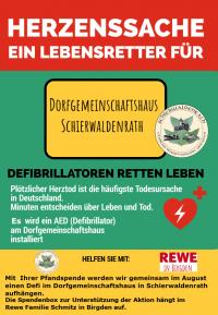 Weiterlesen: Ein Defibrillator für Schierwaldenrath