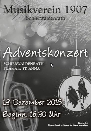 Weiterlesen: 20151203 Adventskonzert 2015
